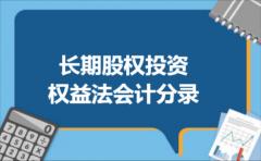 长期股权投资权益法会计